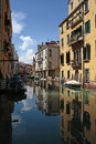 View of a venice canal beautiful glimpse in Royalty Free Stock Photos