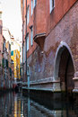 View of venice waterways italy Stock Photography