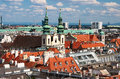 View of Vienna from the St Stephen Cathedral Royalty Free Stock Photos