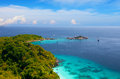 View viewpoint island miang similan islands thailand Stock Image