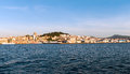 A view of Vigo from the sea Royalty Free Stock Photo