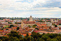 View of vilnius a lithuania Royalty Free Stock Photo