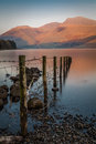 View Of Wast Water Lake In The...