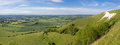View from Westbury White Horse Royalty Free Stock Photo