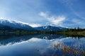 View on Whistler mountain Royalty Free Stock Photo