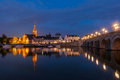 View on Wijck in Maastricht, The Netherlands Royalty Free Stock Photo