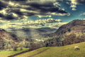 View of windermere from high up Royalty Free Stock Photos