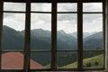 View through a window Royalty Free Stock Photo