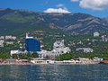 View of Yalta, Crimea, Ukraine Stock Image