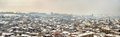 View of yerevan from erebuni fortress armenia Stock Images