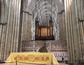 A View of the York Minster Choir Screen Royalty Free Stock Image