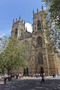 A View of the York Minster Western Towers Royalty Free Stock Images