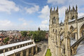 A View of York from York Minster Royalty Free Stock Photo