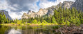 View at the Yosemite Valley Royalty Free Stock Photo