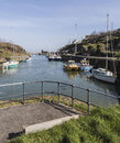 Viewpoint at Amlwch Port on Anglesey, Wales, UK. Royalty Free Stock Photo
