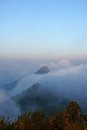 Viewpoint this is the of doi luang chiang dao this is location in thailand Stock Photos