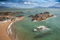 Views Across the Menai Straits Royalty Free Stock Photo