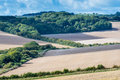 Views across the South Downs Royalty Free Stock Photo