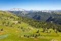 Views along the Colorado Trail Stock Photo