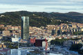 Views of bilbao city bizkaia basque country spain Stock Image