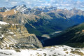 Views from cirque peak banff national park canada Stock Images