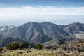 Views from Eagle Peak, Mt. Diablo State Park, Northern California Landscape. Royalty Free Stock Photo