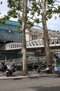 Views of the historic center of paris worlds largest tourist Royalty Free Stock Photography