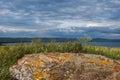 Views of lake shira khakassia Stock Photo