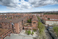 Views of madrid city from carabanchel district it is in the south western suburbs Stock Image