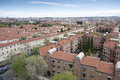 Views of madrid city from carabanchel district it is in the south western suburbs Stock Photos