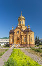 Views of the Orthodox Church of Archangel Michael Stock Image