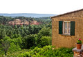 Views from Roussillon Royalty Free Stock Image
