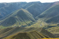 Views from route on its way to iruya salta province argentina Royalty Free Stock Photos