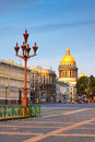 Views of st petersburg saint isaac s cathedral in summer Royalty Free Stock Images