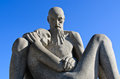 Vigeland 2 man Royalty Free Stock Photography