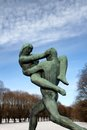 Vigeland park in Oslo, Norway Stock Photography