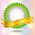 Vignette with a brilliant ribbon, background for a Royalty Free Stock Photo