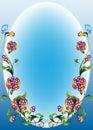 Vignette flower1 Royalty Free Stock Photo