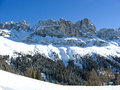 Vigo di fassa a very beautiful place in italy Royalty Free Stock Photography
