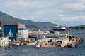 Vigor dry dock ketchikan ak usa may one of the docks at the ketchikan shipyard operated by Stock Photo