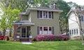 Viintage florida home Royalty Free Stock Photo