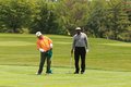 Vijay singh at the memorial tournament in dublin ohio usa Stock Image
