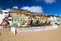 Viking bay at broadstairs on the isle of thanet kent england uk Royalty Free Stock Image