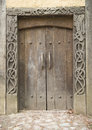 Viking door Royalty Free Stock Photo