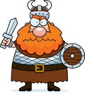 Viking fâché Image stock