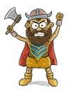 Viking Man Royalty Free Stock Photo