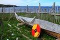 Viking settlement Royalty Free Stock Photo