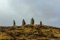 Viking stonework Immagini Stock Libere da Diritti
