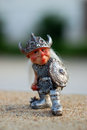 The viking toy at denmark Royalty Free Stock Image
