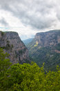 Vikos gorge Royalty Free Stock Photo